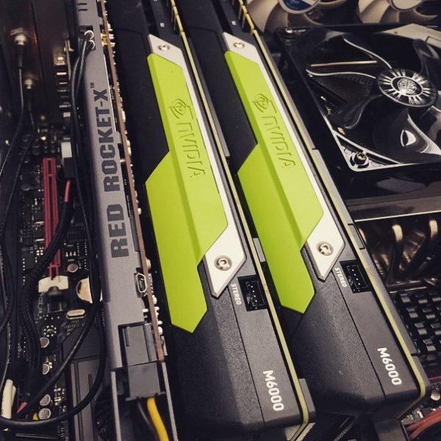 Quadro M6000 GM200 GPU