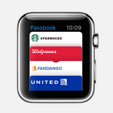 apple watch passbook