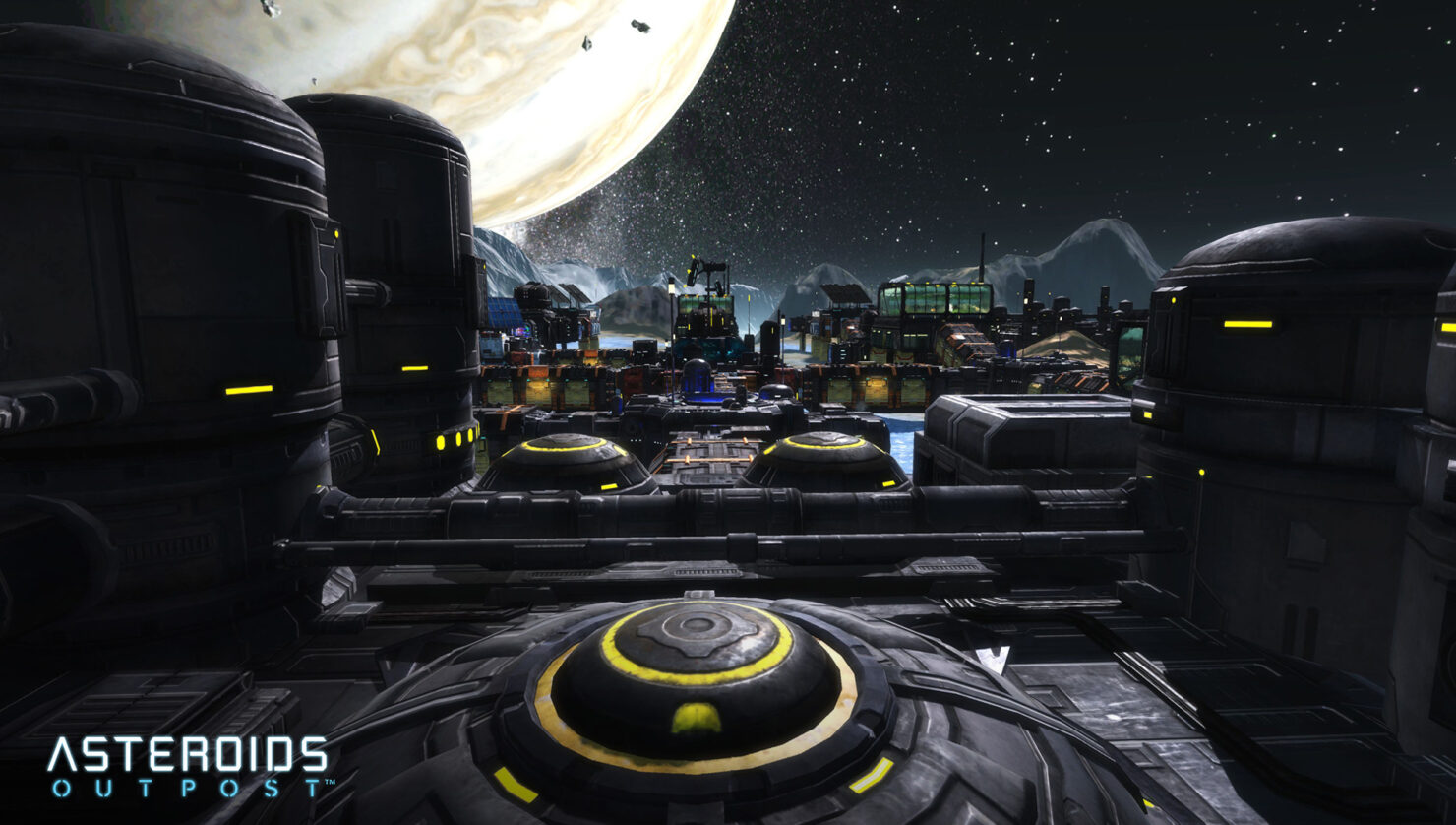 asteroids outposts