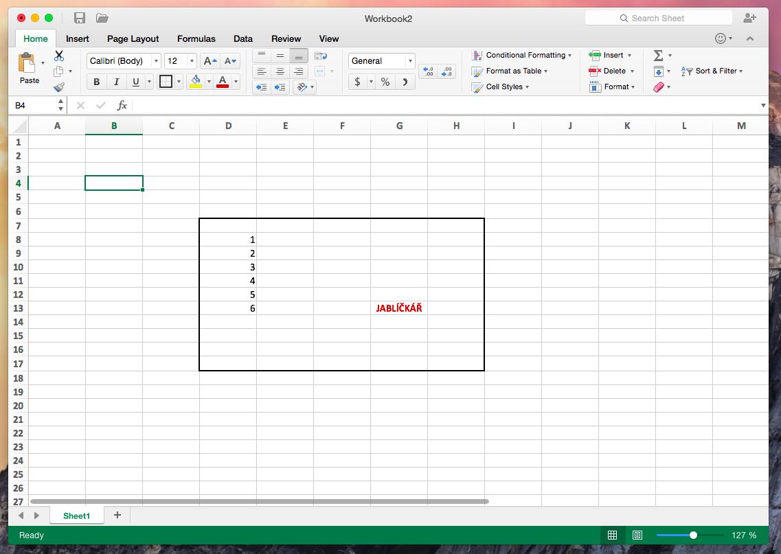 excel 2016 mac pivot table