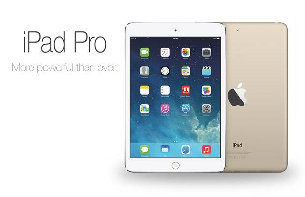 leaked iPad Pro images