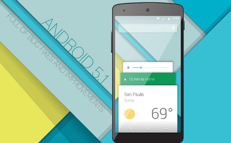 Google Starts Releasing Android 5.1 Lollipop Update
