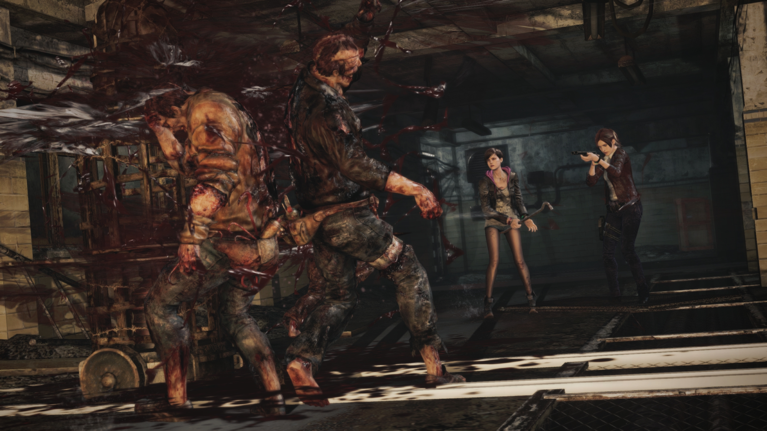 Resident Evil Revelations 2 Latest Ps4 Patch Brings Frame Rate
