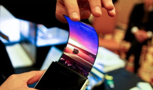 Samsung apple flexible oled