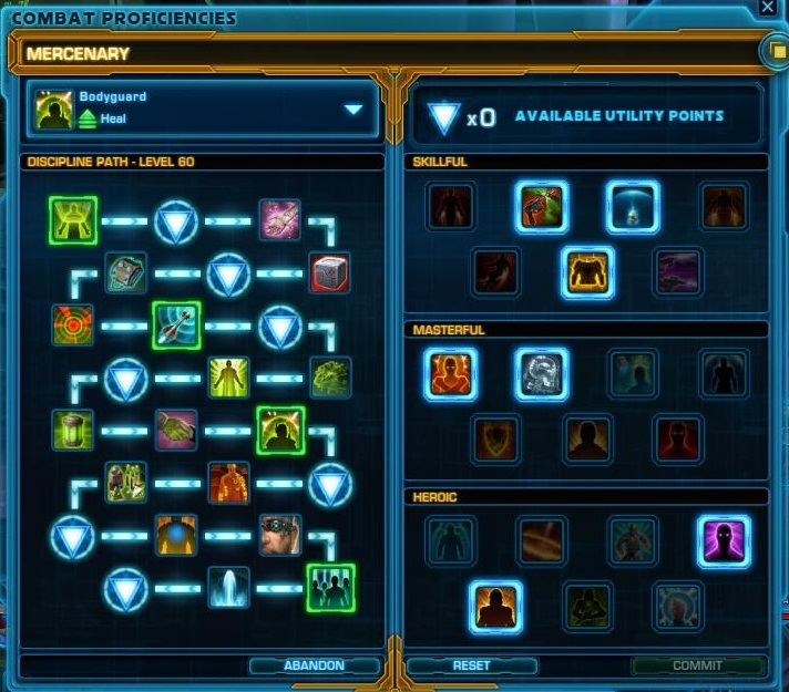 New Skill Tree in Star Wars The Old Republic