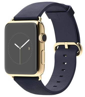 42mm 18-Karat Yellow Gold Case with Midnight Blue Classic Buckle