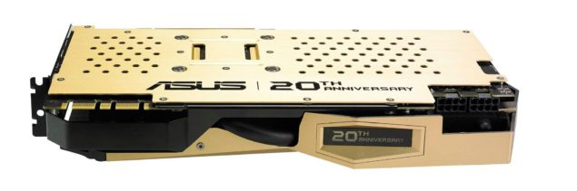 ASUS GeForce GTX 980 20th Anniversary Gold Edition_Backplate