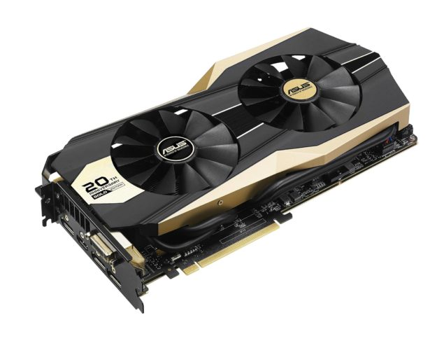 ASUS GeForce GTX 980 20th Anniversary Gold Edition_Render 1