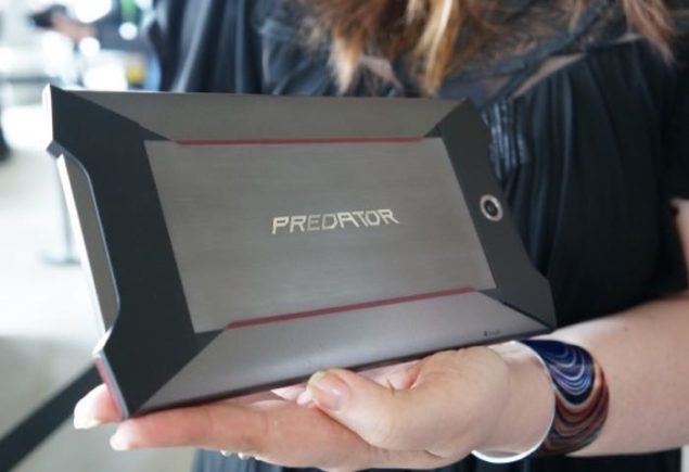 Will Acer Predator's Tactile Feedback Feature Be Enough To Gain An Advantage Over NVIDIA's Shield Gaming Tablet?