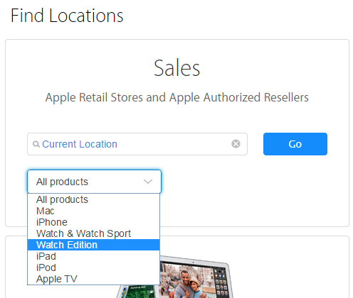 Apple Store Find Locations