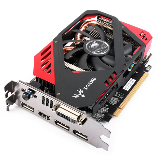 Colorful iGame GeForce GTX 960 Mini_Front