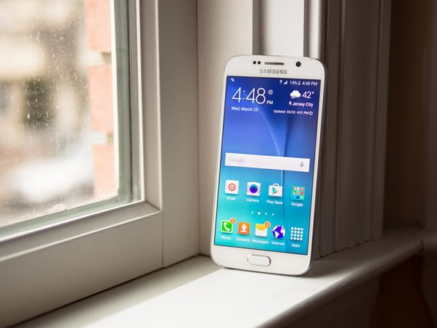 tether Galaxy S6 edge tips