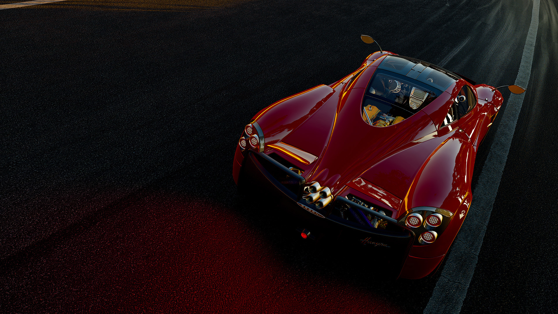 Project CARS PS4 Car Detail Is Equivalent To High On PC Using EQAA More Details Version
