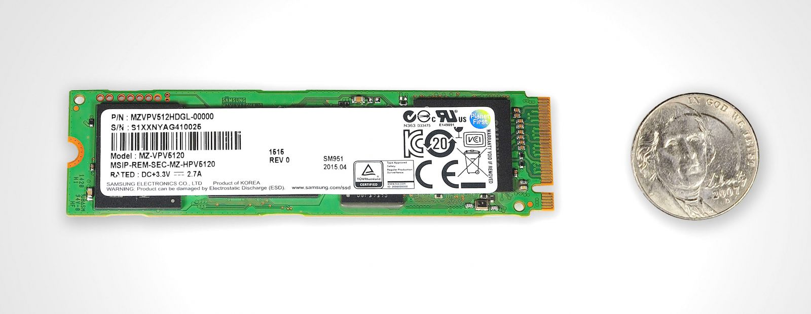 Samsung will be manufacturing world's first NVMe PCIe SSD