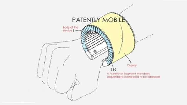 samsung flexible oled patent