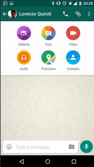 Download Official WhatsApp Material Design APK