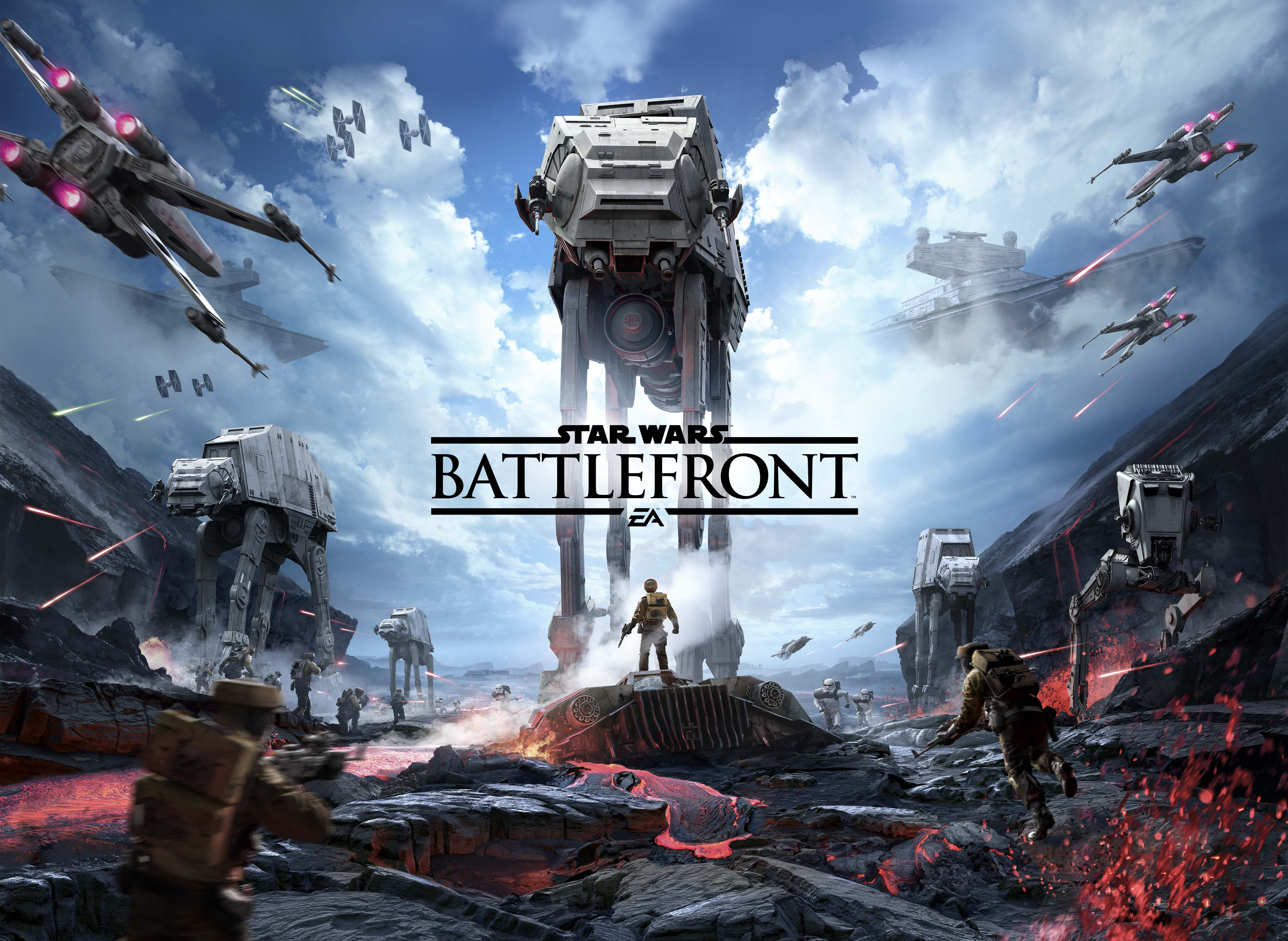 "star wars: battlefront ""looks great on the xbox one as well"