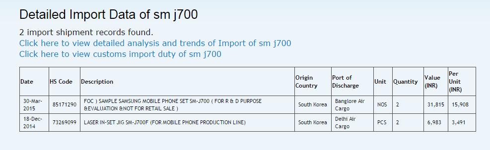 the-samsung-sm-j700-makes-the-rounds-at-zauba