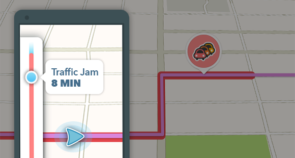 Waze's New Update Lets You Know The Traffic Jam Time