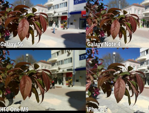 galaxy s6 camera vs iphone 6