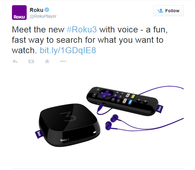 Roku 3 Officially Launched: Contains Voice Search, Faster