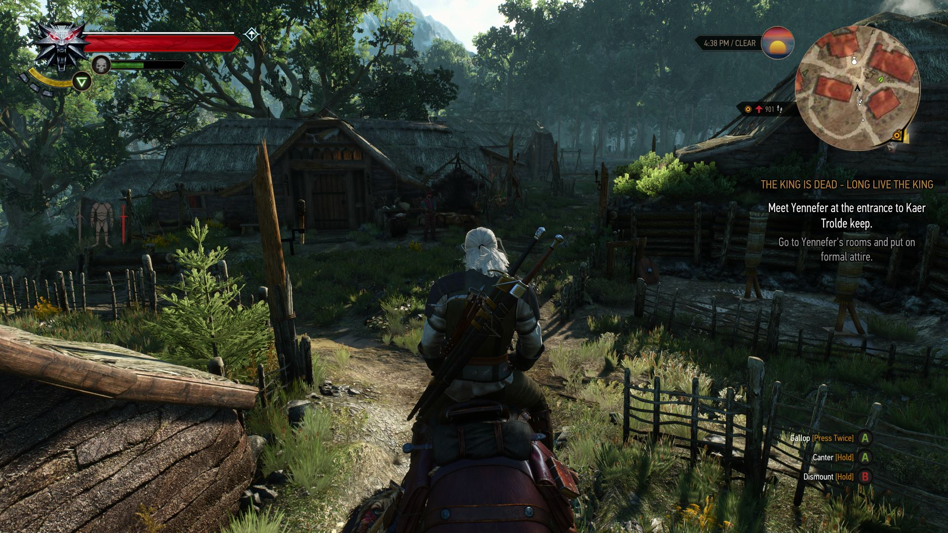 The Witcher 3 Is A Huge Open World With No Loading Times