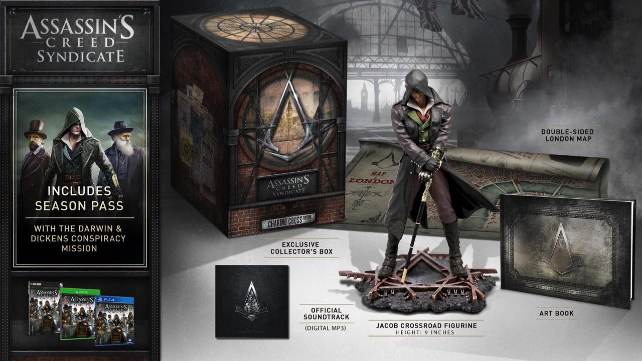 Assassin S Creed Syndicate Collector S Edition And Life Size Props
