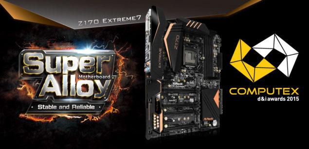 ASRock Z170 Extreme 7 Motherboard