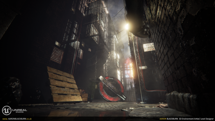 Blade Runner Inspired Unreal Engine 4 Demo