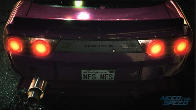 Need For Speed Nissan 180SX