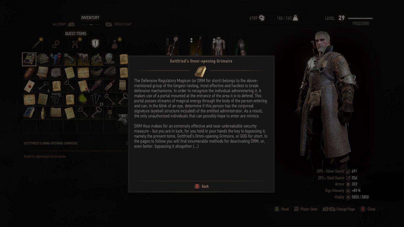 Vlodimir Letter Witcher
