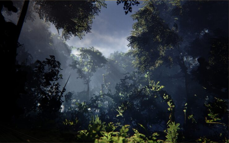 Unreal Engine 4 Beautiful Rainforest Environment