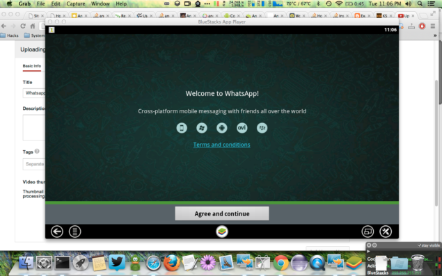WhATSAPP DESKTOP FOR MAC OS X