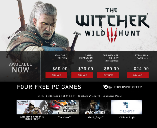 Witcher 3 Uplay