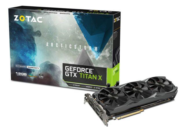 ZOTAC GeForce GTX Titan X Arctic Storm