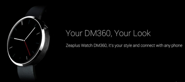 Zeaplus DM360 Is A Moto 360 Clone That Costs Just $99