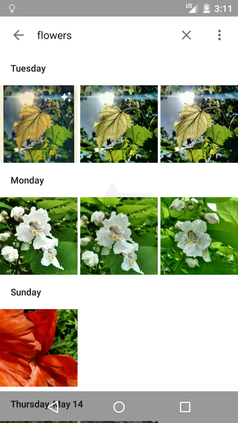 ScreenShot Photos App