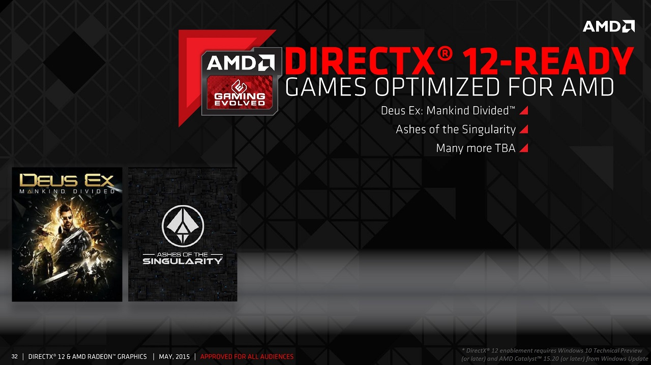 AMD Sheds More Light on Explicit Multiadapter in DirectX 12