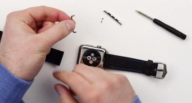 use standard watch bands with apple watch
