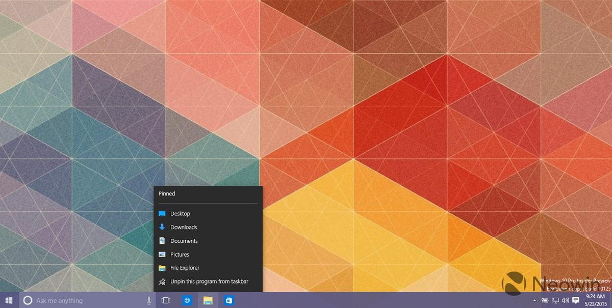 Windows 10 Leaked Screenshots - New Icons, UI Changes