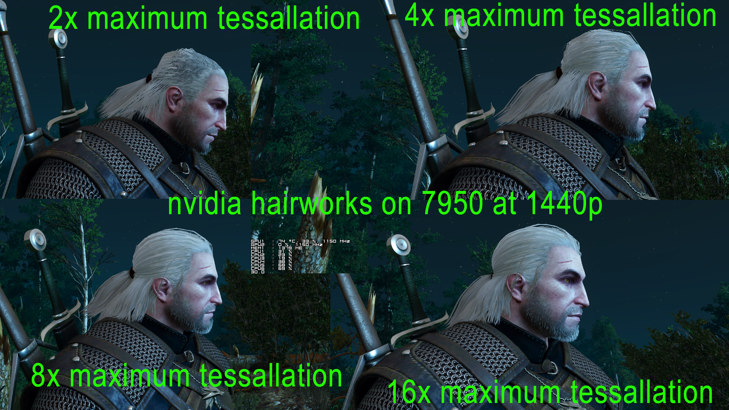 The Witcher 3 How To Run Hairworks On Amd Gpus Without Crippling Performance