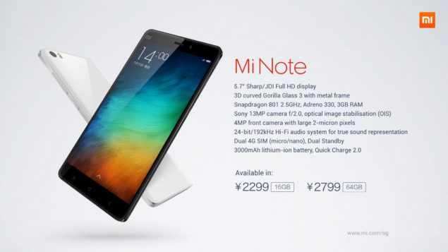 Xiaomi PR: Mi Note Pro Working Without Overheating Flaws