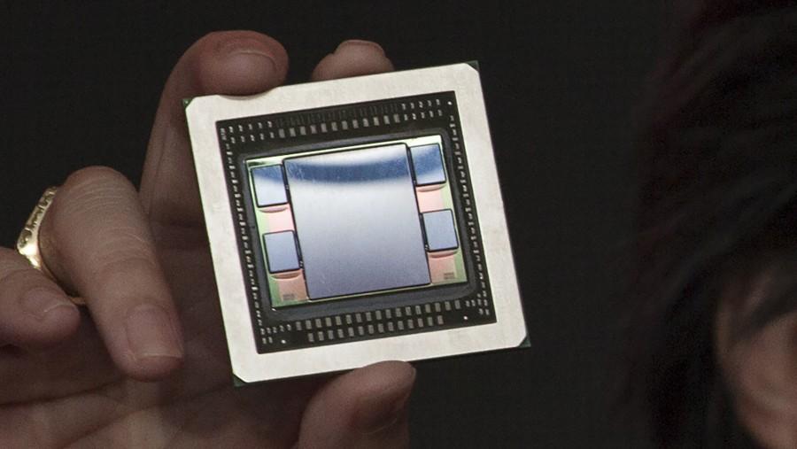 AMD Fiji GPU High Resolution Shot