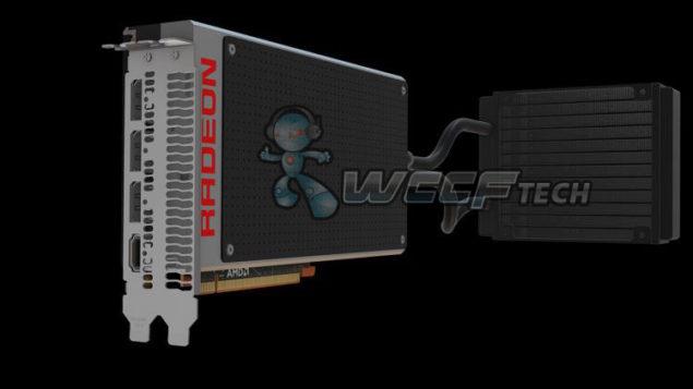 R9 Fury X Draft Render Fiji XT GPU