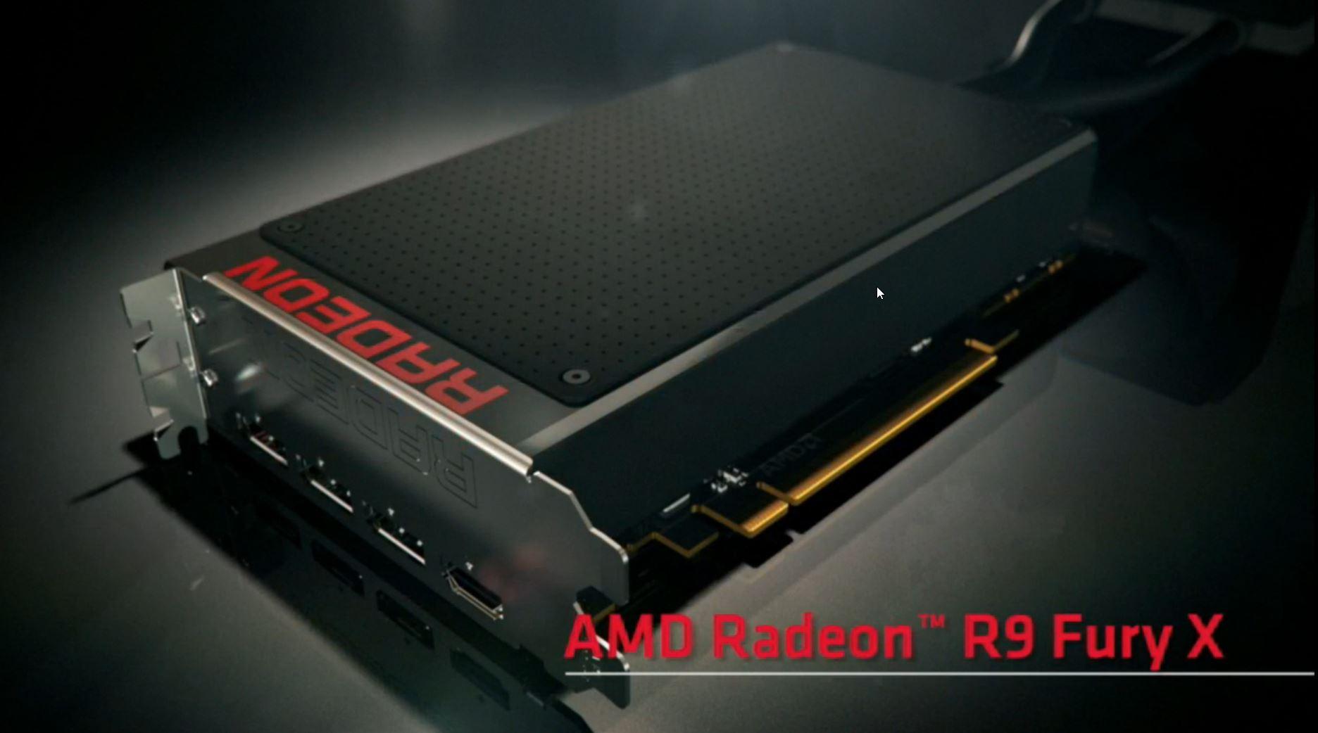 AMD Radeon R9 Fury X, R9 Nano and Fury Unveiled - Fiji GPU Based, HBM Powered, $649 US Priced ...