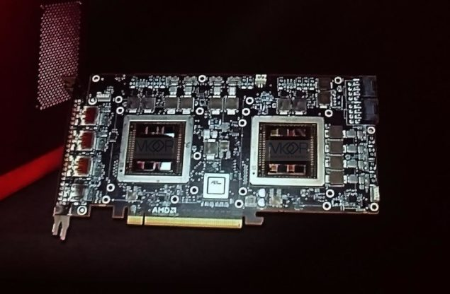 AMD Radeon R9 Fury X2 Dual Fiji GPU Graphics Card
