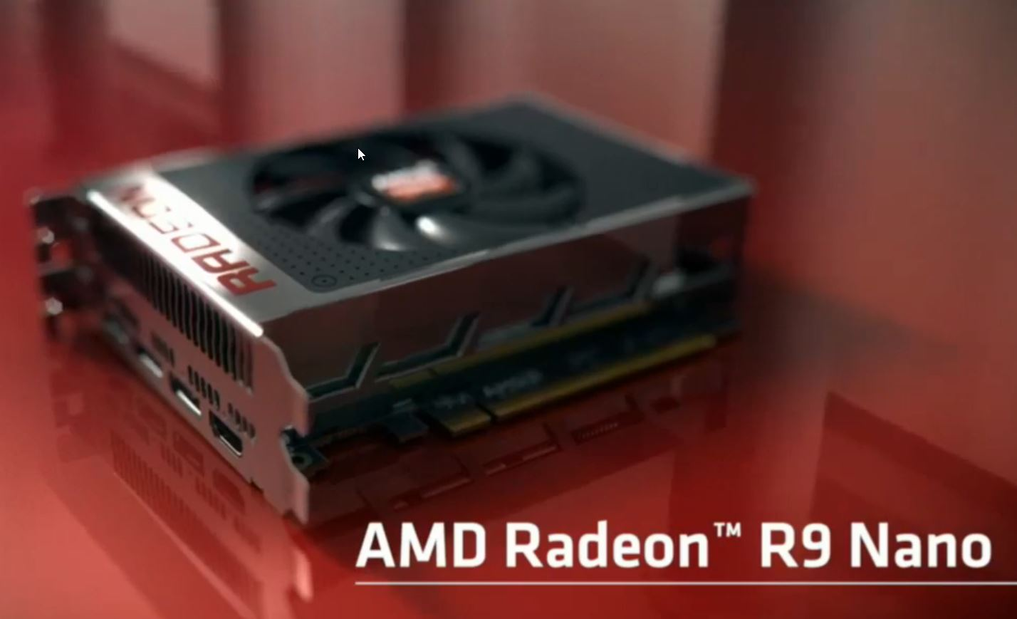 AMD Radeon R9 Nano Graphics Card
