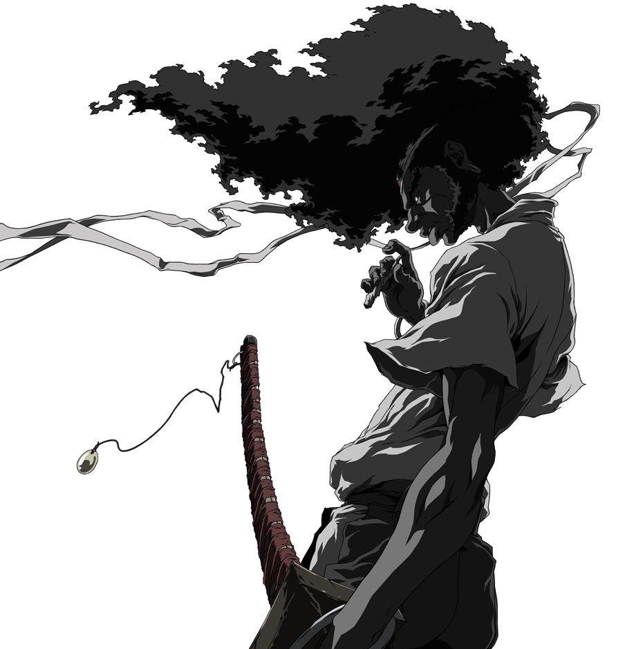 afro samurai 2 revenge of kuma e3 reveal trailer afro clip art silhouettes afro clip art work