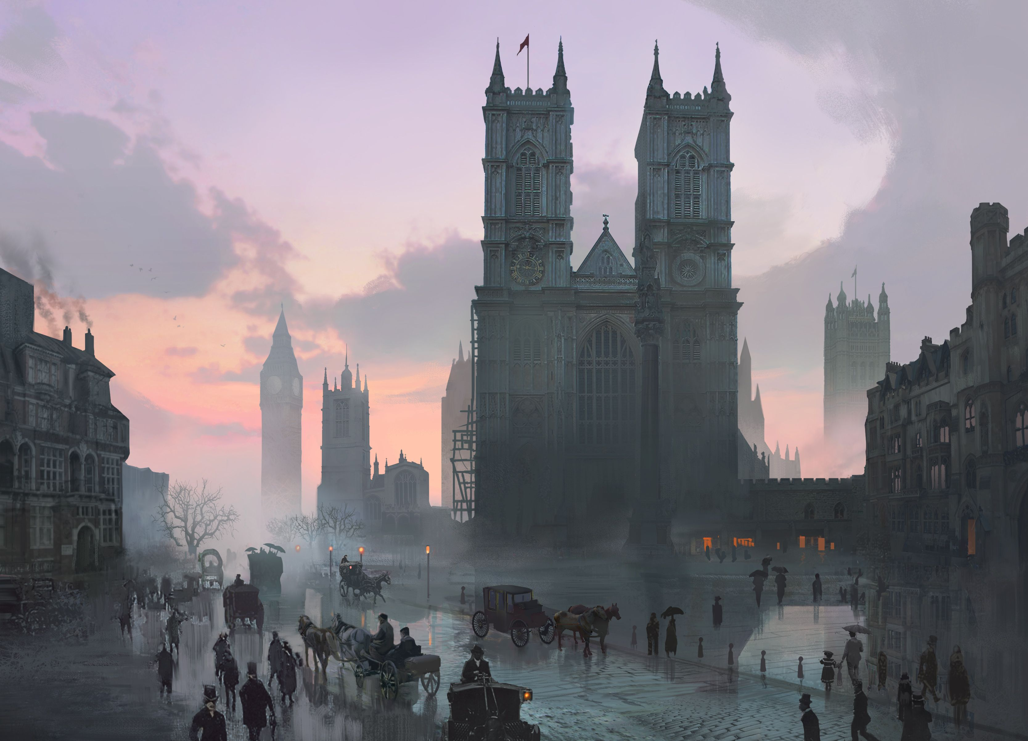 Assassin S Creed Syndicate Amazing 4k Screenshots And Art
