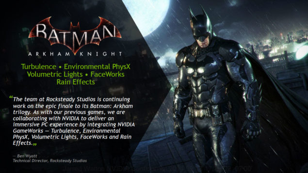 Batman Arkham Knight GameWorks (2)
